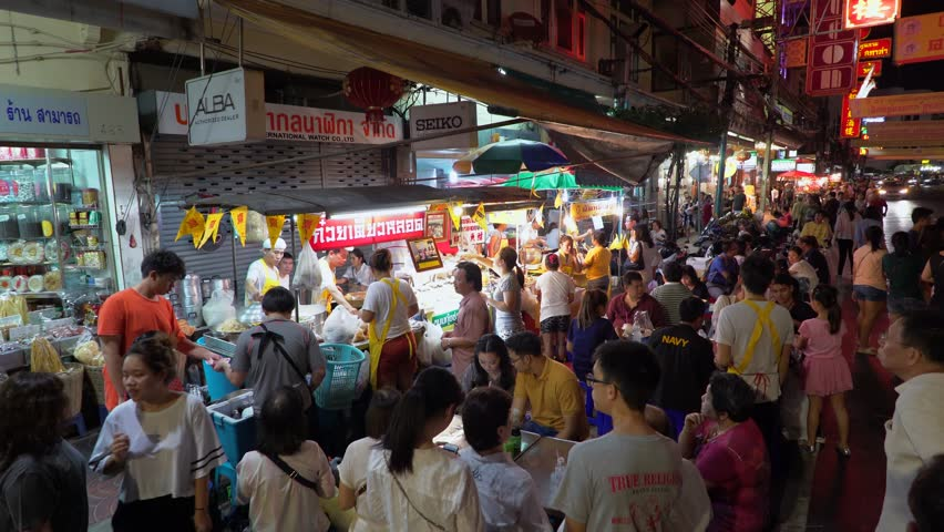 Food stalls Bangkok