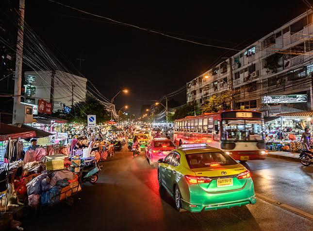 Huay Kwang Mercati di Bangkok