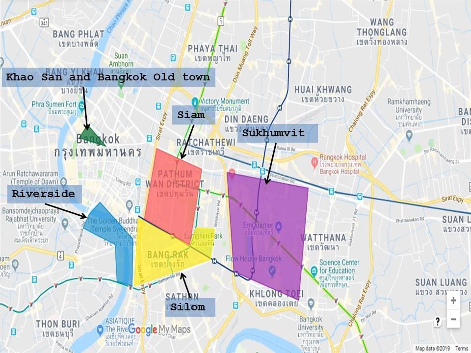 dove alloggiare a Bangkok