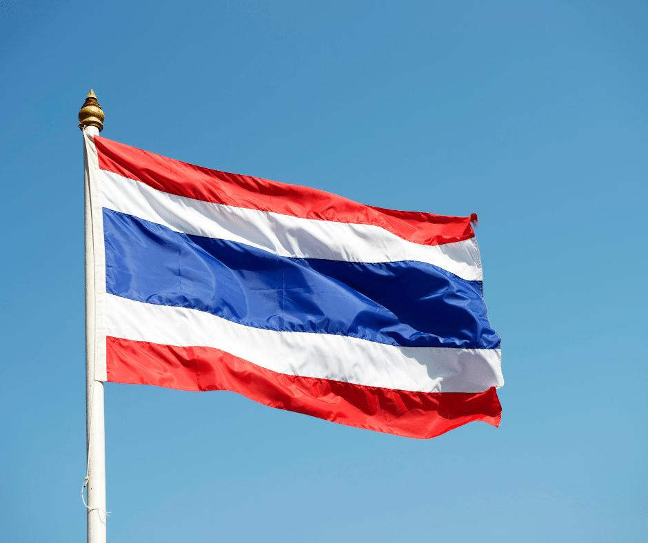 Thai Flag Pride