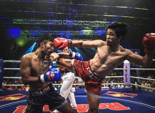Muay Thai combattimento