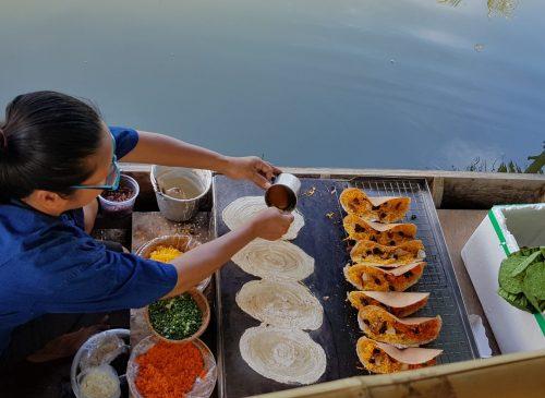 Venditore cibo thailandese