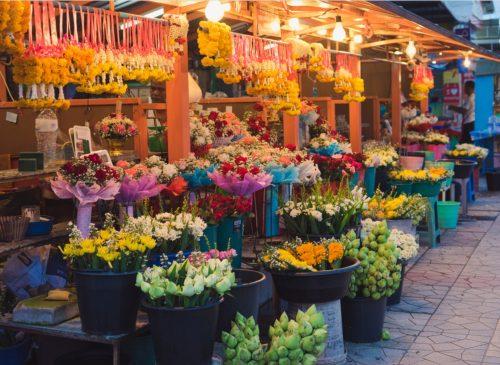 Bangkok Flower Maeket