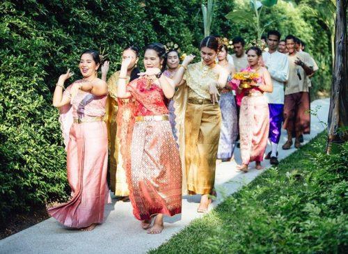 Thai Wedding Parade